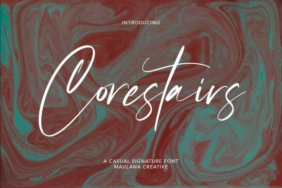 Corestairs Font