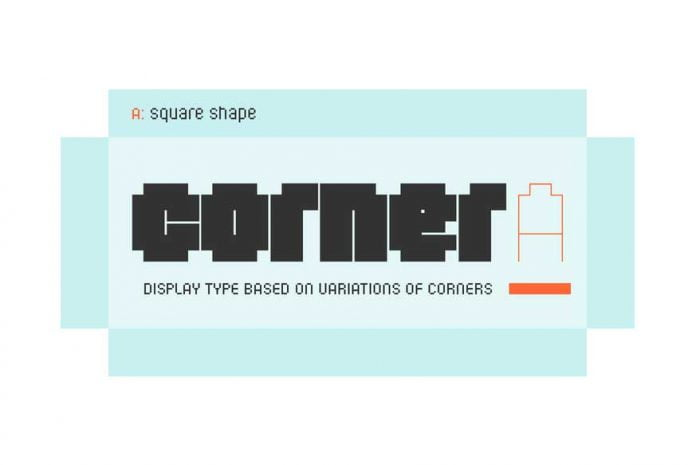 Corner A Font Family