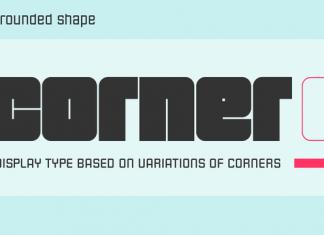 Corner C Font Family