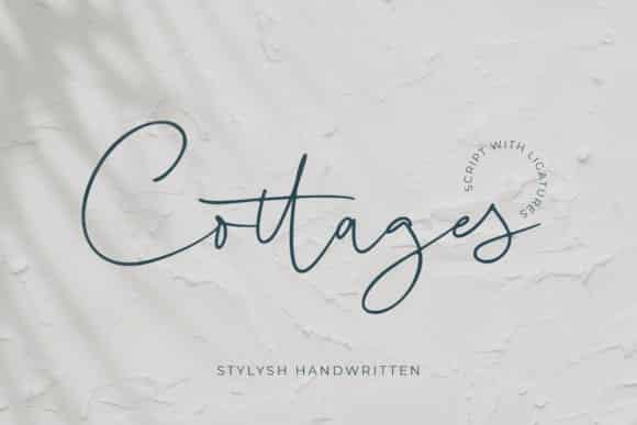 Cottages Font