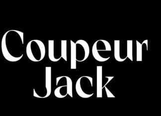 Coupeur Jack semi-bold Font