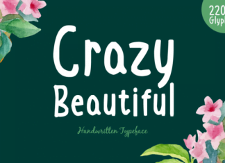Crazy Beautiful Font