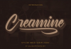 Creamine Font