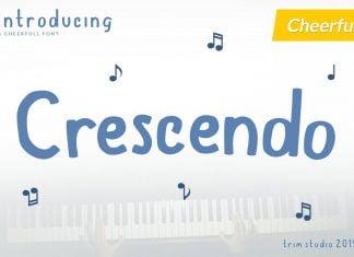 Crescendo Font