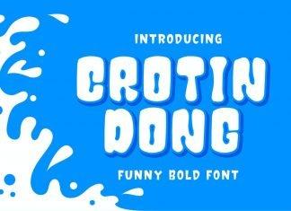 Crotin Dong - Funny Bold Font