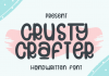 Crusty Crafter Font