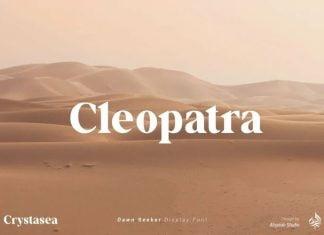 Crystasea Font