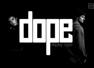 DOPE - Unique Display Typeface