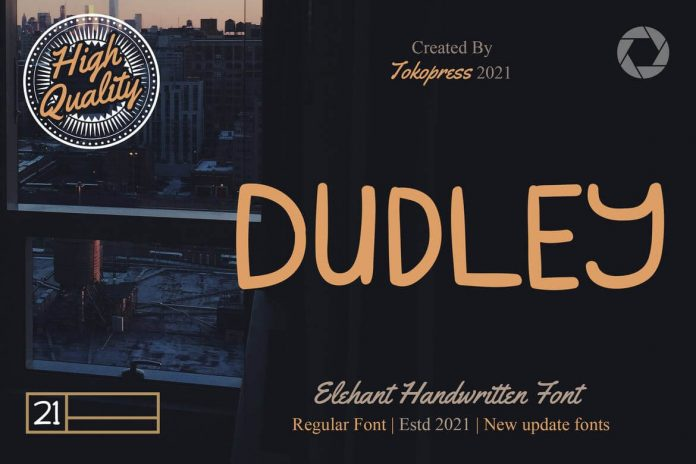 DUDLEY - Classy handwriting font