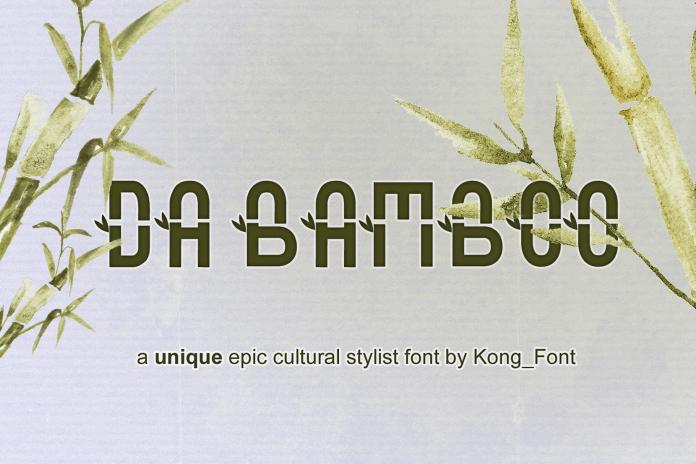 Da Bamboo Font