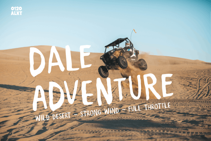 Dale Adventure - Exploration Font