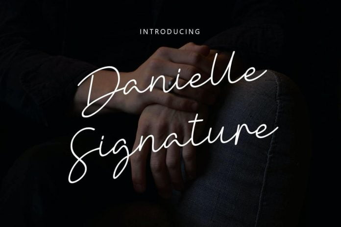 Danielle Signature - Handwritten