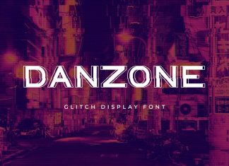 Danzone sans Serif Display Font