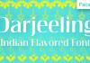 Darjeeling Font
