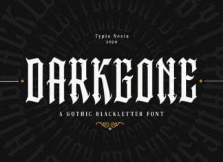Darkgone Font