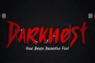 Darknest - Font