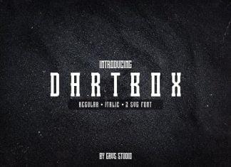 Dartbox Font