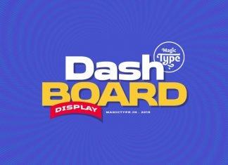 Dashboard Font