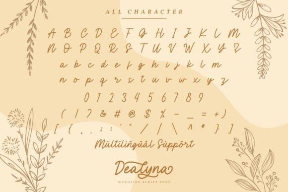 Dealyna Font