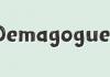 Demagogue Font Family