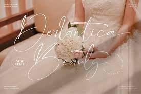 Derlantica - Beauty Stylish Signature Font
