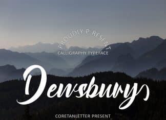 Dewsbury Font