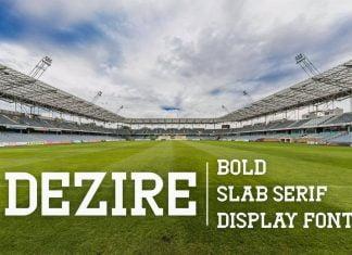 Dezire - Slab Serif Font