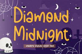 Diamond Midnight Font