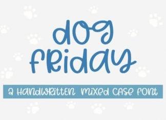 Dog Friday Font