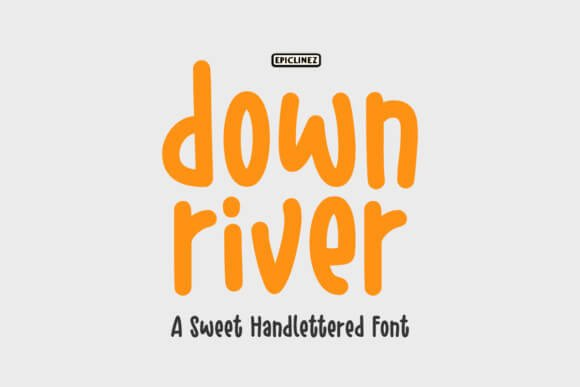 Down River Font