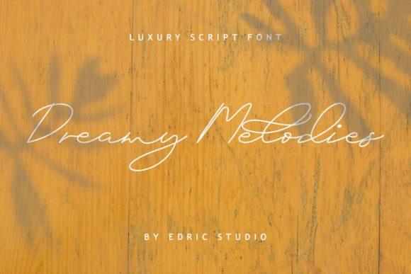 Dreamy Melodies Font