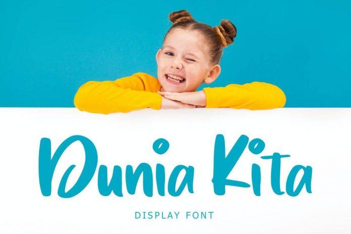 Dunia Kita Exciting Display Font