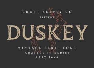 Duskey Font Family