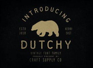 Dutchy - Vintage Type Family Font
