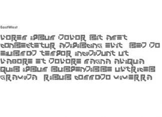 East West Font