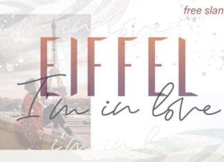 Eiffel in Love Duo Font