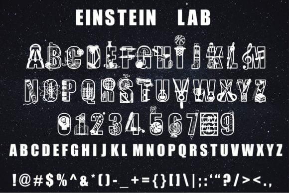 Einstein Lab Font