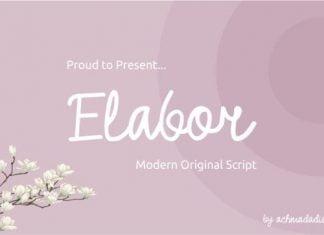 Elabor Font