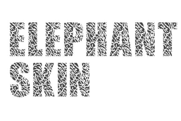 Elephant Skin Font