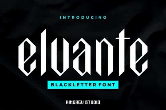 Elvante Font