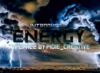 Energy Font
