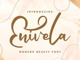 Enivela Modern Beauty Font