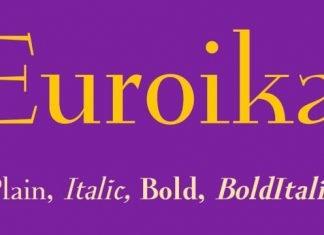 Euroika Font