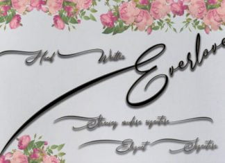 Everlove Font