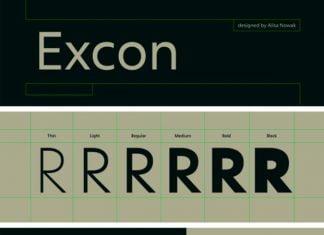 Excon family Font