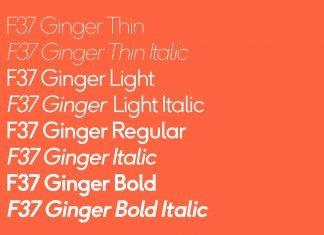 F37 Ginger Font