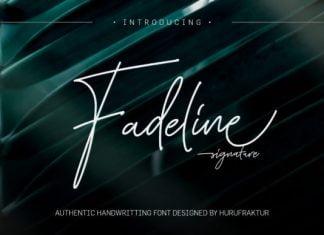Fadeline Font