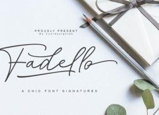 Fadello Font