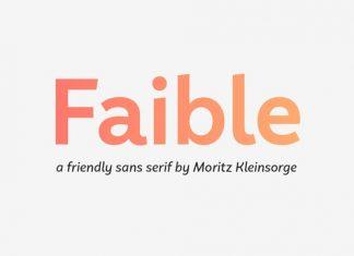 Faible Font