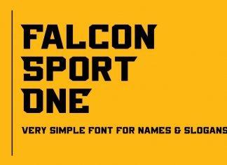 Falcon Sport Font